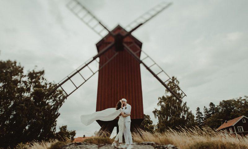 Ludivine et Matthieu en Suède